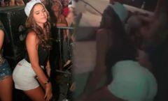 Bruna Marquezine rebolando gostoso em baile funk