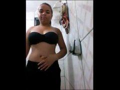 Bruna ninfeta de Vitória na webcam