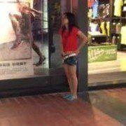 Video novinha do Rio de Janeiro flagrada se masturbando no Shopping