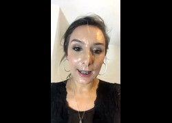 Video Mariah novinha amadora com cara cheia de porra