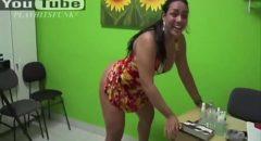 famosa Mulher Melancia mostrando a bunda dançando funk