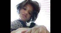 caiu na net Anna Cristina tocando siririca sozinha escondida no banheiro